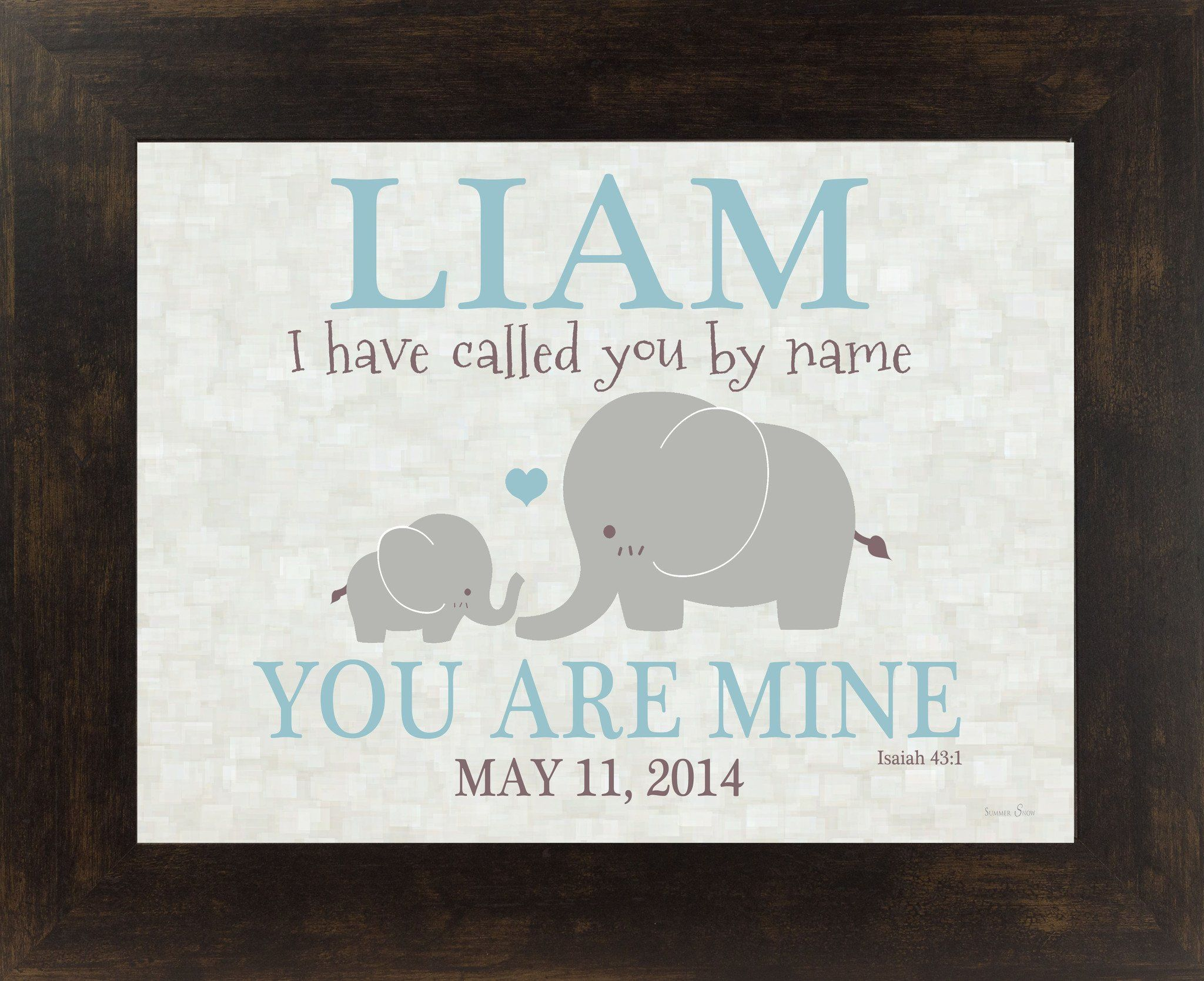I Have Called You by Name personalized PERS026   Names ...