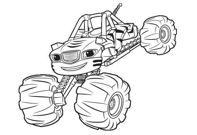 Printable Blaze And The Monster Machines Coloring Pages Monster Truck Coloring Pages Monster Coloring Pages Cartoon Coloring Pages