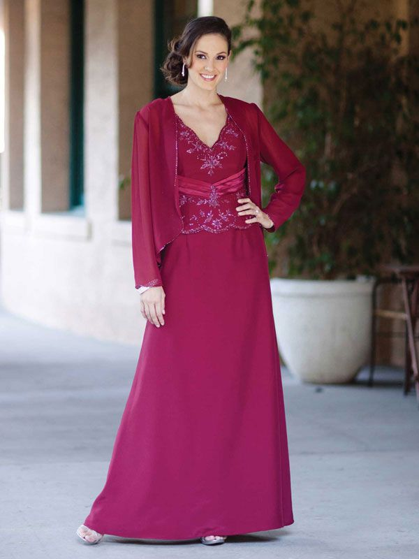 Gorgeous Sleeveless A Line Dress For Mother Of The Bride | Randa ...