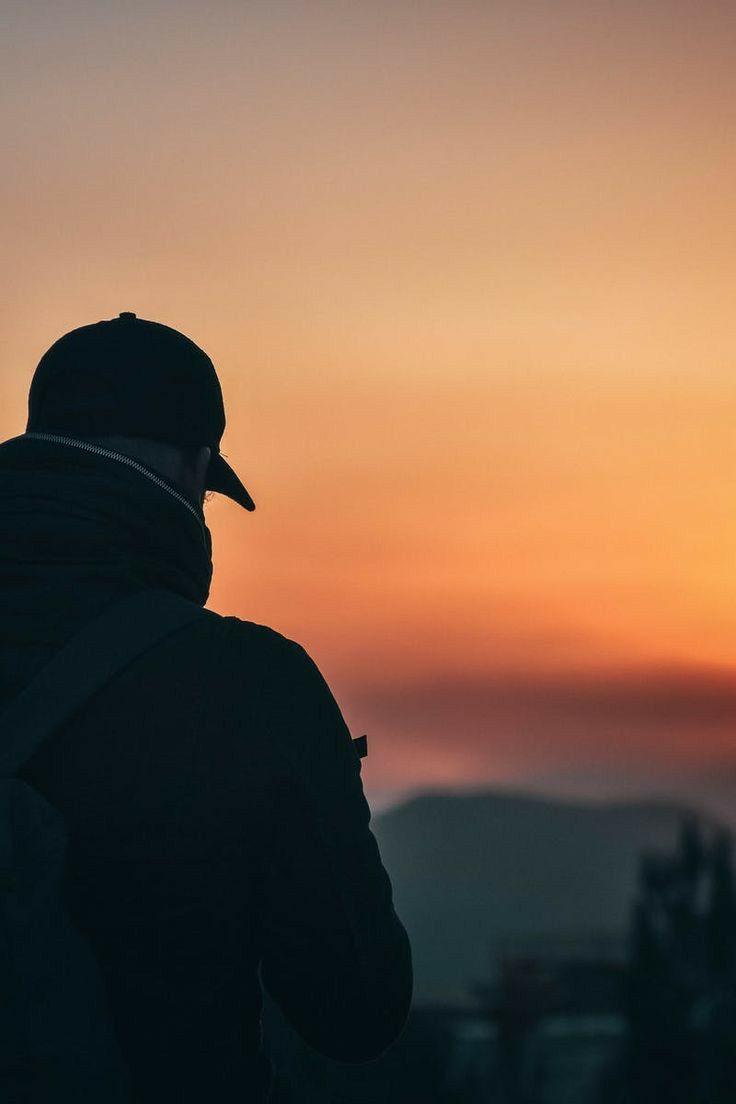 عبر نفحات الن سيم وأريج الأزهار وخيوط الأصيل أرسل شكرا من الأعماق لك Man Photography Portrait Photography Men Photo Poses For Boy Hd wallpaper alone man silhouette rock