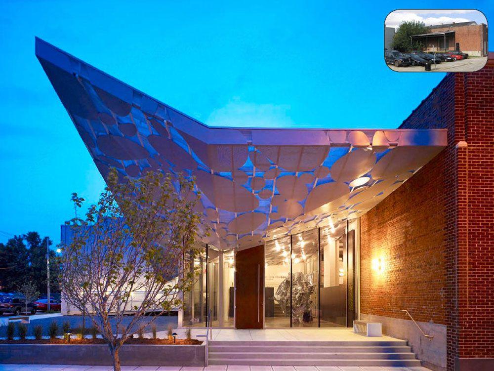 Contemporary Art Museum, Raleigh design Exterior 2 Urban