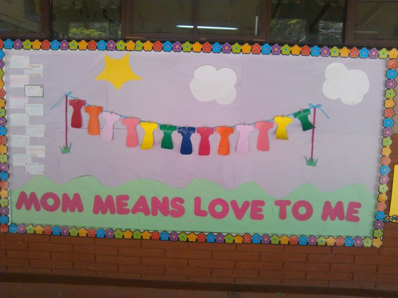 Mother S Day Classroom Decoration Ideas ~ Mother s day bulletin board classroom ideas pinterest