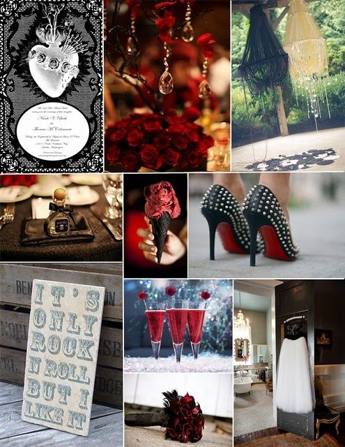 Rock N Roll Wedding Decorations Afl Repinned From By