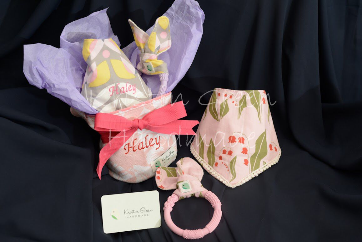 All handmade organic personalized bib organic bunny ear silicone all handmade organic personalized bib organic bunny ear silicone teether personalized gift container kristingreen negle Image collections