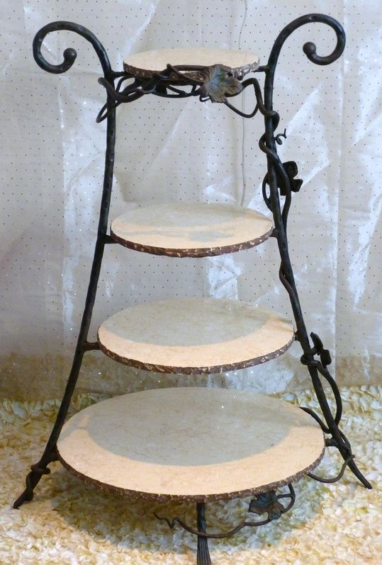 4 tier metal wedding cake stand 4 tier wrought iron cake stand pa marcelo 10378