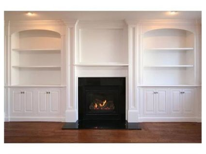 Minus the black fireplacewill do a natural stone one and add a