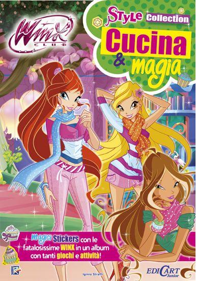 """¡Nuevo cuaderno de actividades Winx Club Cafe """"cucina & magia""""! New notebook of activities Winx Club Coffee ''cucina & magia''! http://poderdewinxclub.blogspot.com.ar/2014/01/nuevo-cuaderno-de-actividades-winx-club.html"""