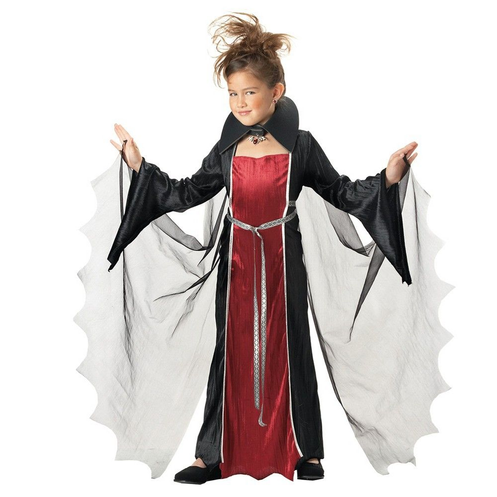 Halloween Girls' Vampire Costume X-Large 12-14, Size: XL