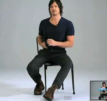 Norman Reedus. Look at him for christ sake! Just look!