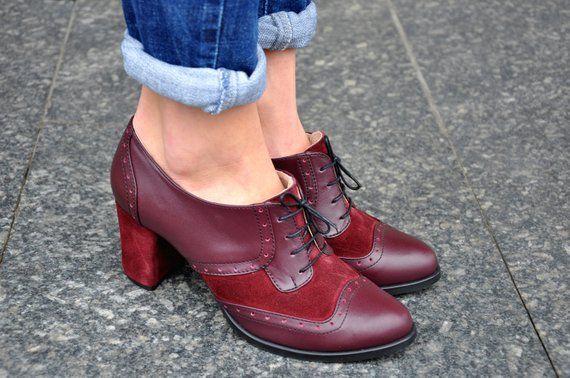 fc07dd8ed38 Fulham - Oxford Pumps, Womens Oxfords, Leather Shoes, Bordeaux Shoes ...