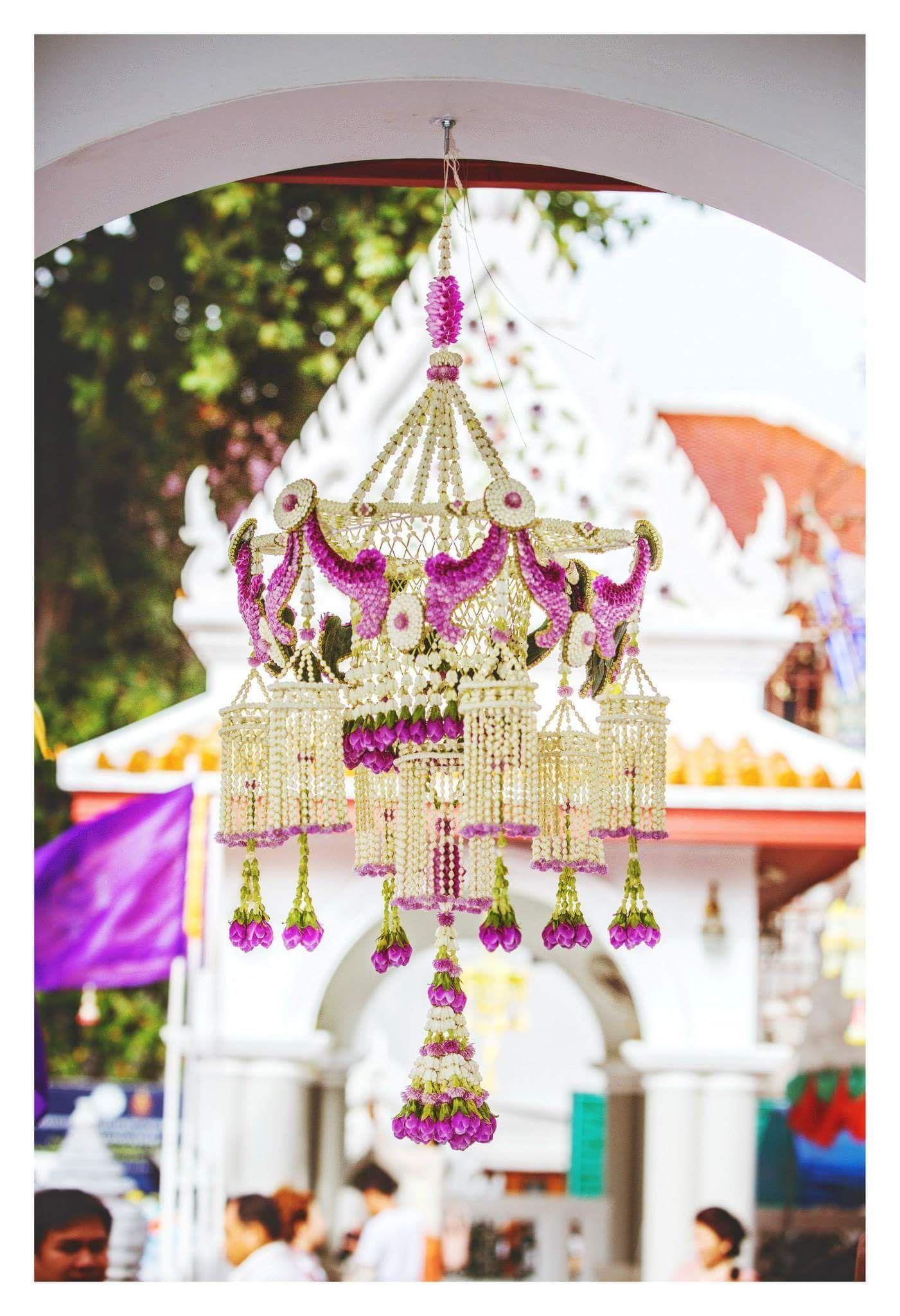เครื่องแขวนไทย การจัดดอกไม้, การตกแต่งงานแต่งงาน, งานฝีมือ