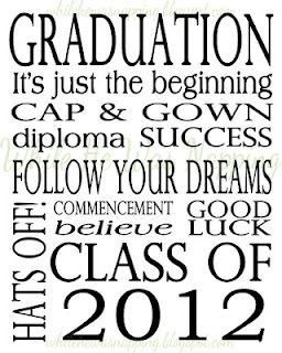 Graduation Card Printable....do in elementary with their