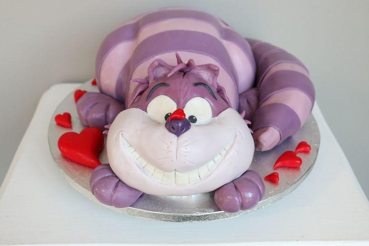 3D Torte, Alice Im Wunderland, Die Katze