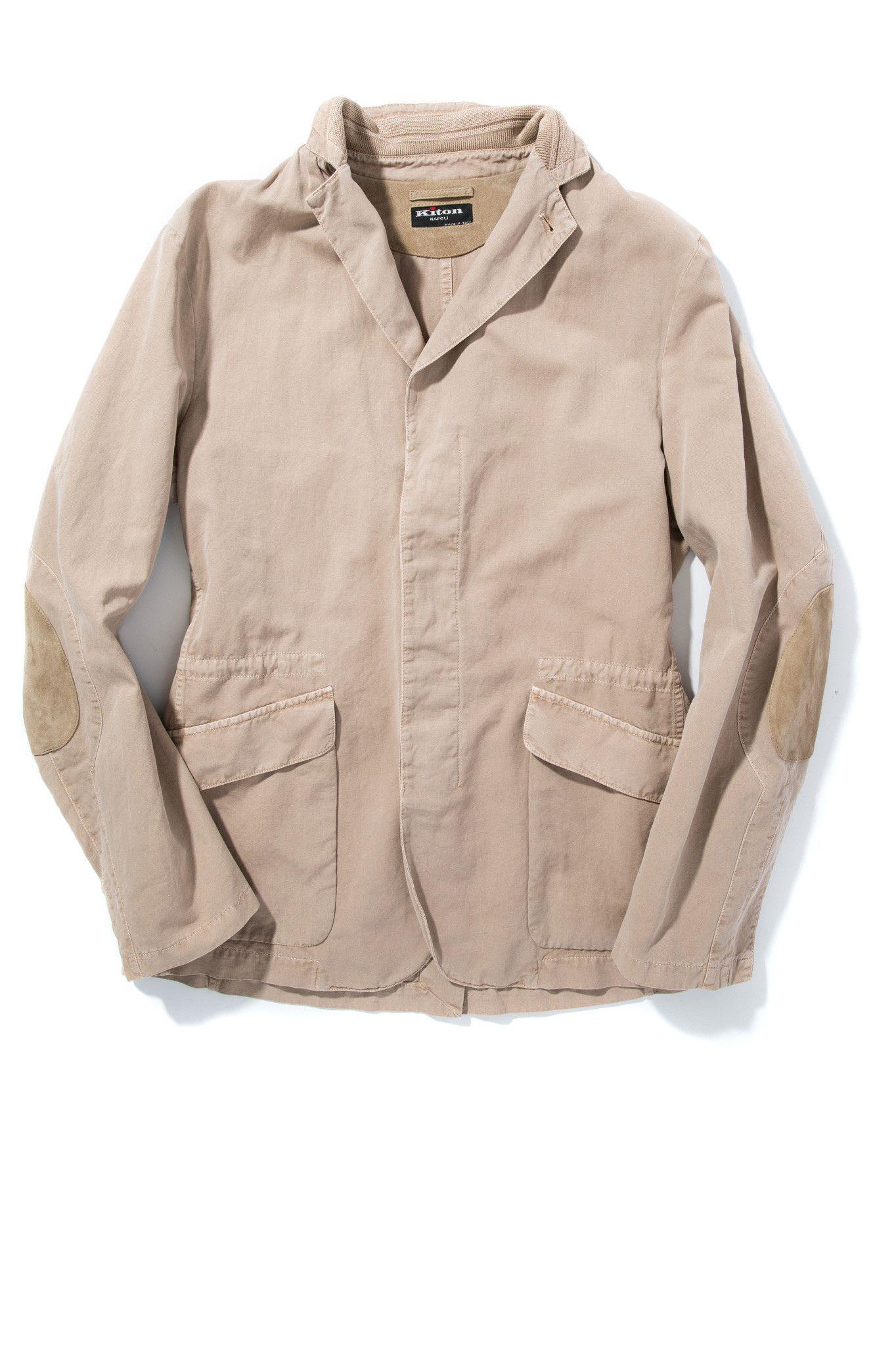 Kiton Murcia Tan Canvas Jacket Products # Muebles Dous Murcia