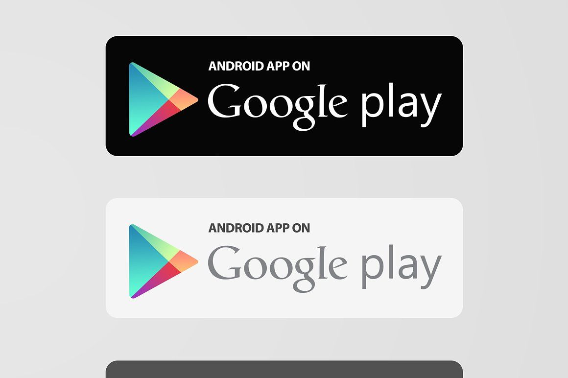App Store Google Play Buttons X2 App Store Google Play Google Play Mood Board Template