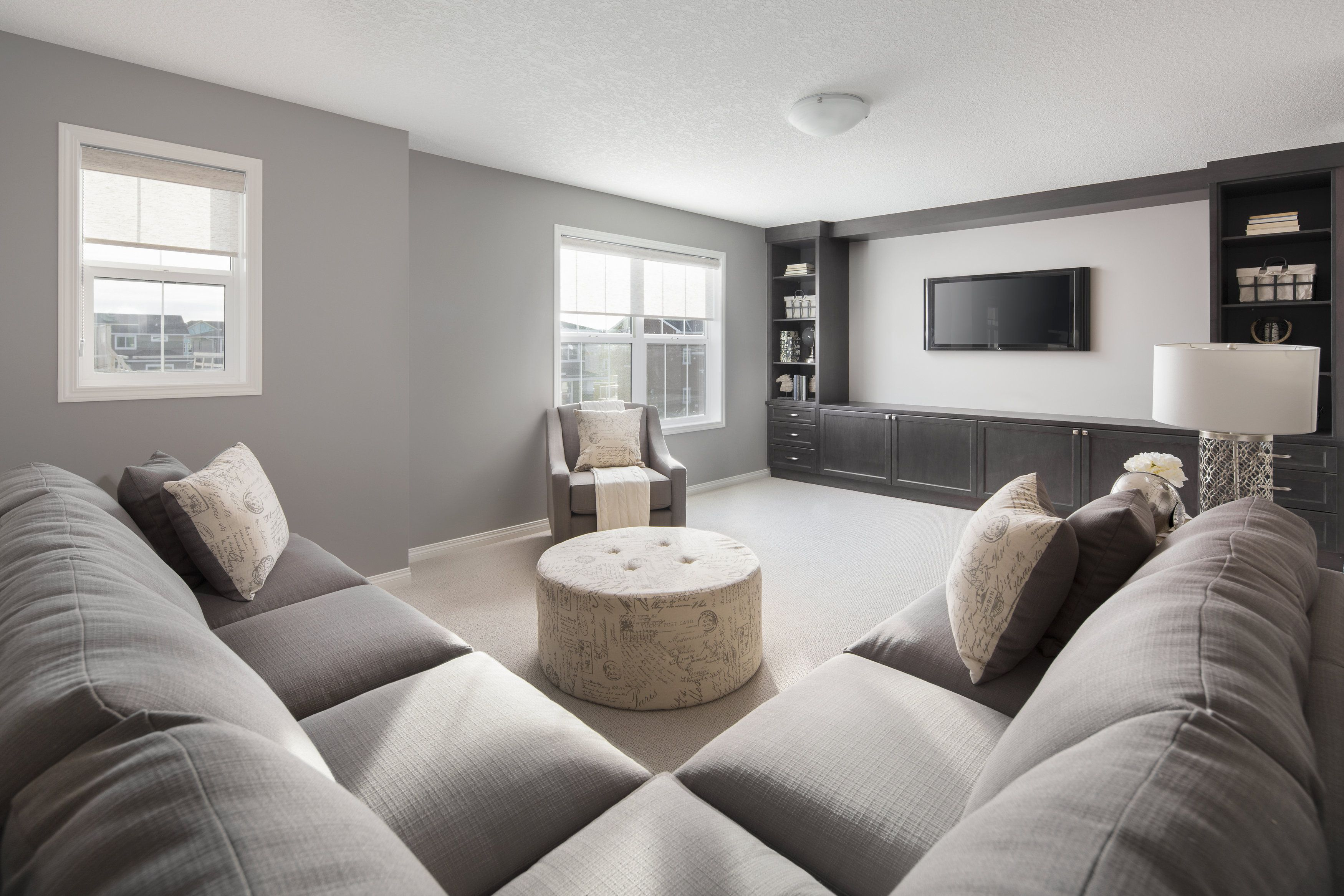 Second floor family room in Shane Homes' Tofino II
