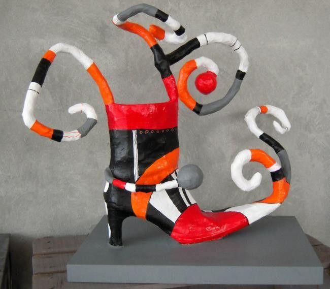 Chaussure - Média mixtes ©2011 par Atelier Terre de Sienne -