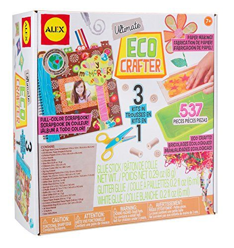 Alex Toys Craft Ultimate Eco Crafter Check Out This Great Product Note It Is Affiliate Link To Amazon Alex Toys Toy Craft Handmade Paper