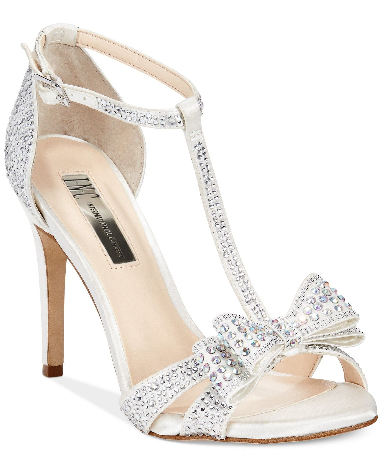 INC International Concepts Women's Reesie2 High Heel Evening Sandals -  Evening & Bridal - Shoes - - INC International Concepts Women's Reesie2 High Heel Evening