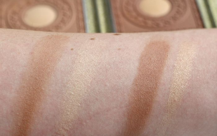 Essence lights of orient bronzer swatch