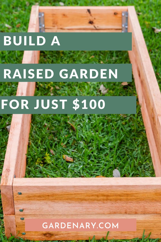 Raised Bed Garden Diy Under 100 In 2020 Raised Garden Raised Garden Beds Diy Building A Raised Garden