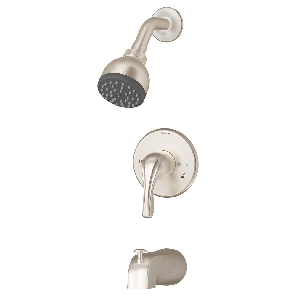 Symmons Origins Temptrol 1 Handle Tub And Shower Faucet Trim Kit