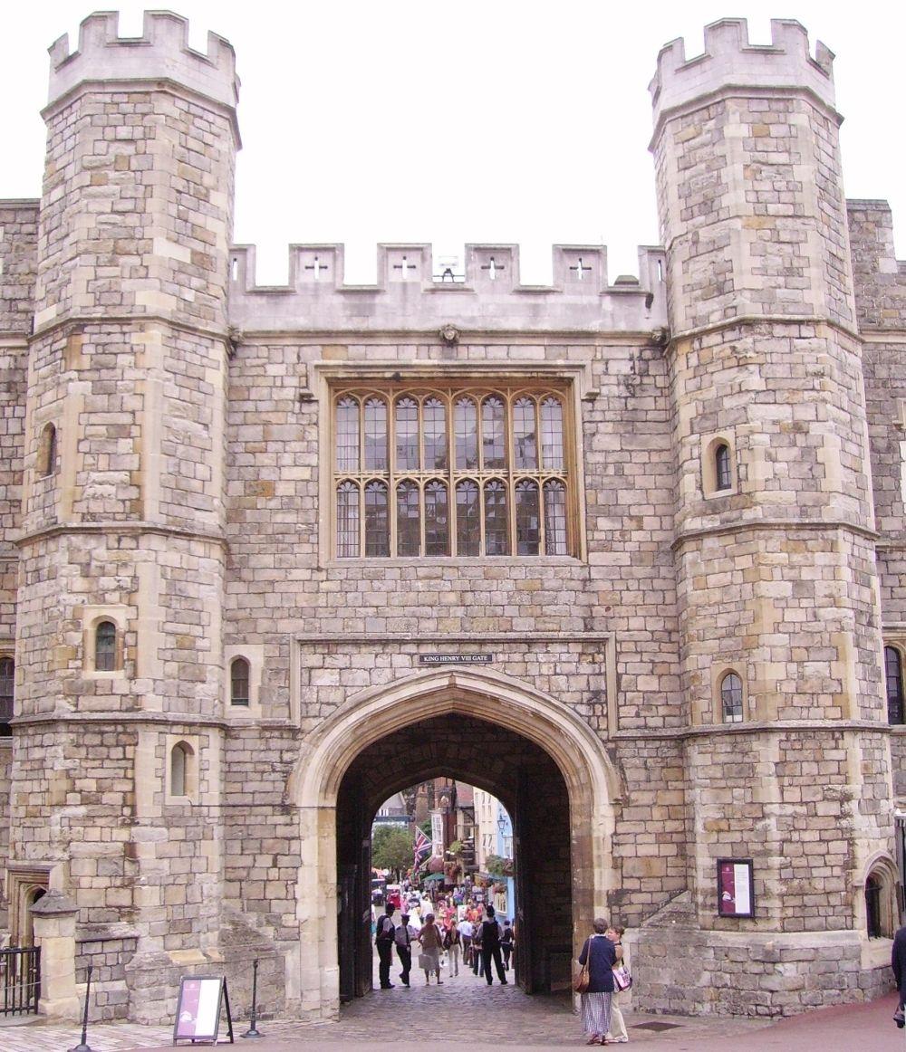 King-Henry-VIII-Gate-at-Windsor-Castle   Places We've Visited ...