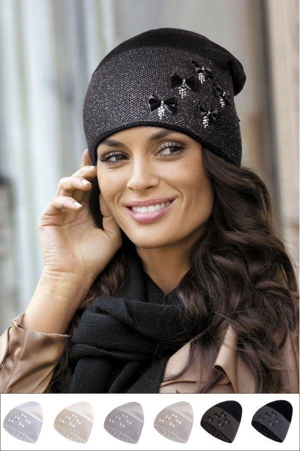 Bonnet chapeau femme Gabriella Bea KAMEA qualité Hiver