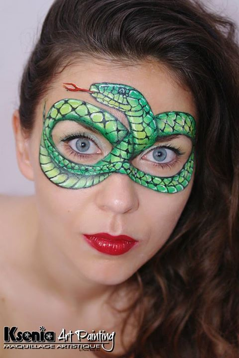 Reptile Face Painting Pictures Face Painting Face Painting Designs Animal Face Paintings