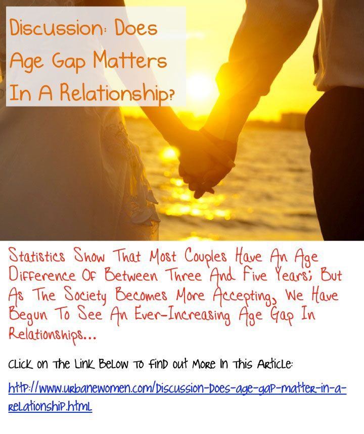 Age Difference in Relationships - How Much is Too Much