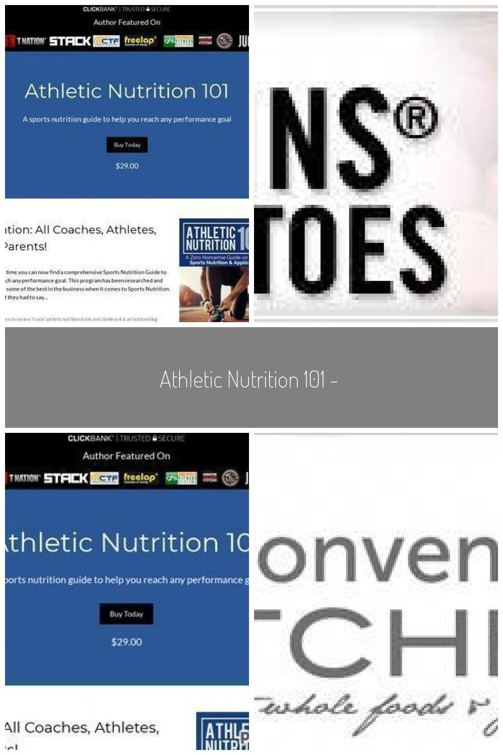 Photo of Athletic Nutrition 101 – Health & Fitness #athletenutrition Athletic Nutrition 1…