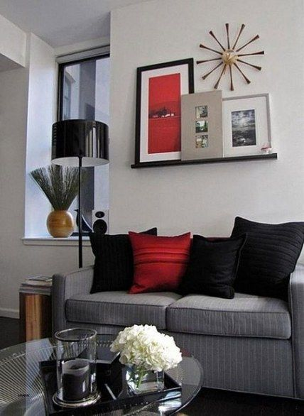 living room decor red black spaces 45 ideas for 2019