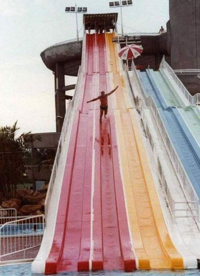oh snap! Water Slide Ownage