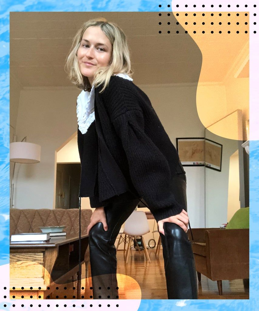 These Leather Pants Went Viral On Tiktok Here S Why Skin Tight Leggings Leather Pants Melina Pant