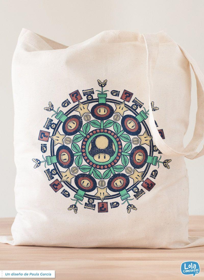 Tote Bag - Mandala by VIDA VIDA All Size 100% Authentic tSqUzsLqFi