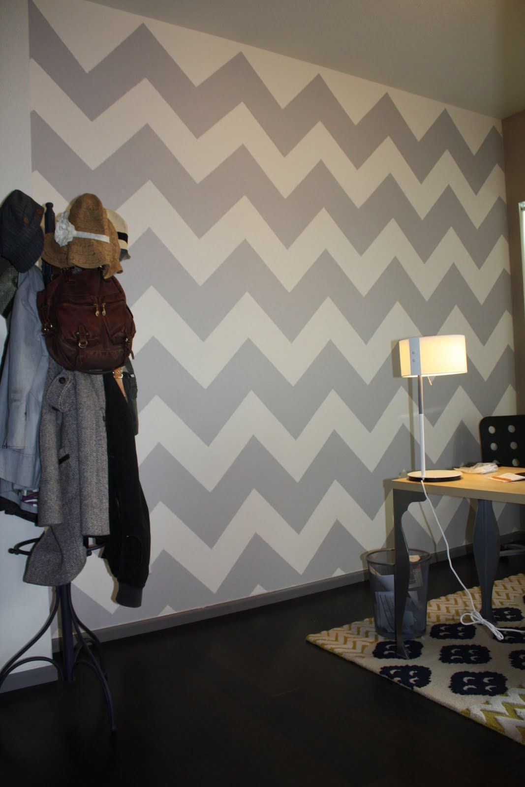 Zig Zag Bedroom Ideas pinwendy goldberg on mg style in 2018 | pinterest | wall, zig