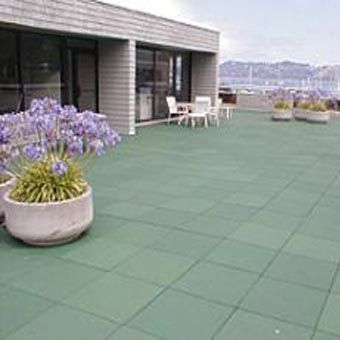 Outdoor Play And Patio Roof Top