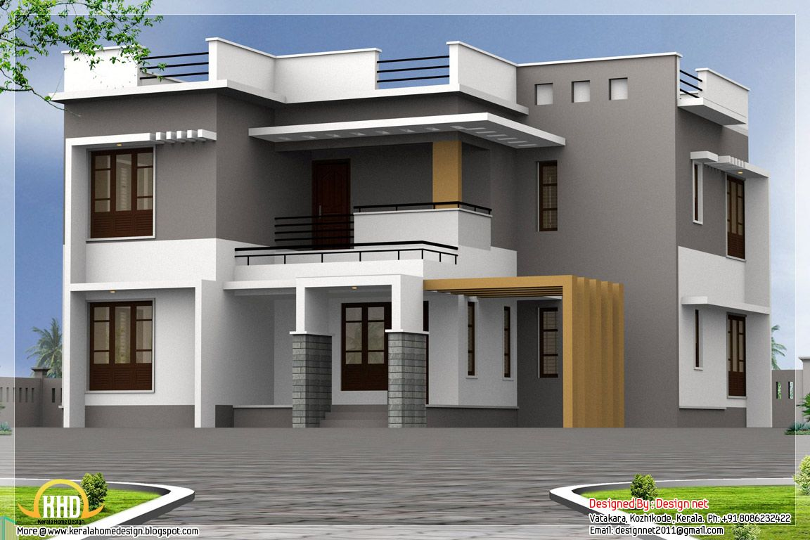 Kerala modern house design ideas for the house for Modern style house