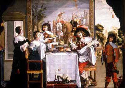 Abraham bosse le gout peinture black dresses 17th c english pinterest gout - 17th century french cuisine ...