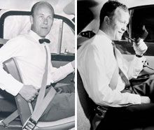 What year was the seat belt invented?