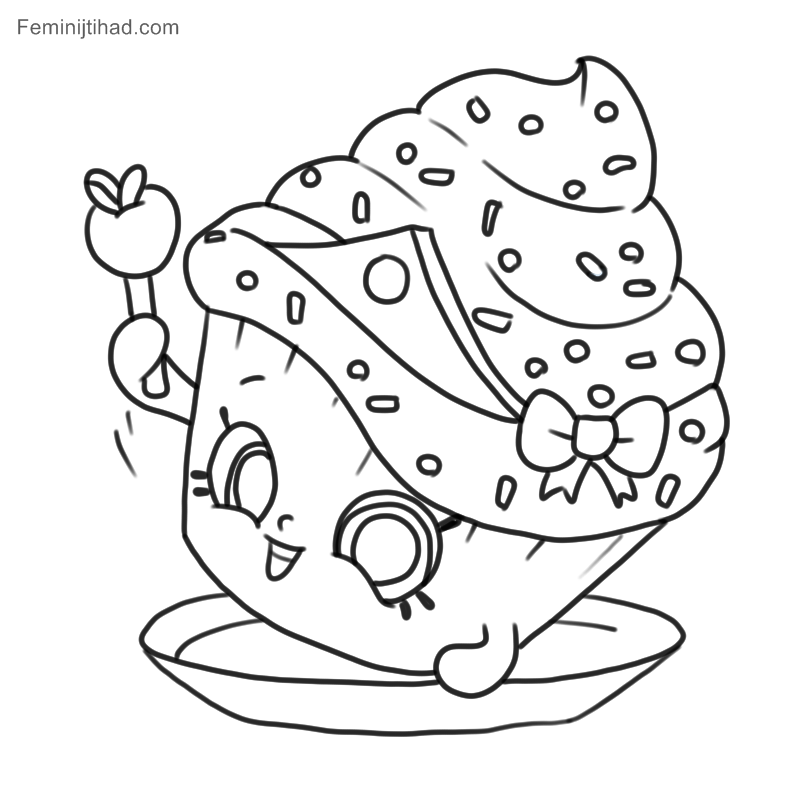38 Printable Shopkins Coloring Pages To Print Coloring Pages For Kids Shopkins Colouring Pages Princess Coloring Pages Princess Coloring