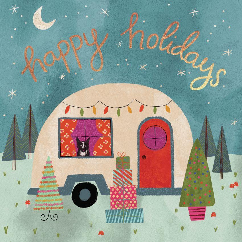 Happy Holidays Caravan Frankie Van Mourik in 2020