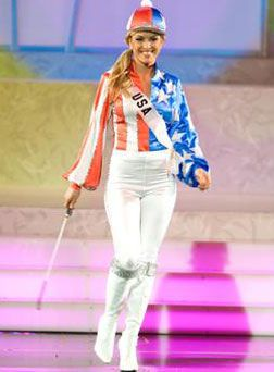 9d27bb95f miss usa 2006 national costume | Tara Connor | Beauty Girls in 2019 ...