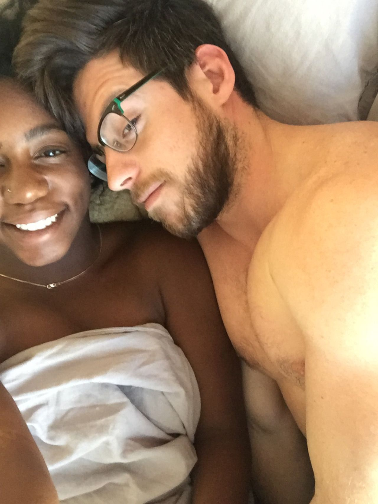 Amateur Ebony White Boyfriend