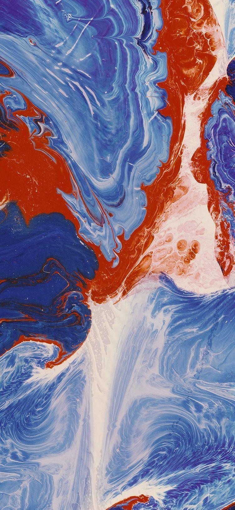 Краски Iphone homescreen wallpaper, Iphone wallpaper ios