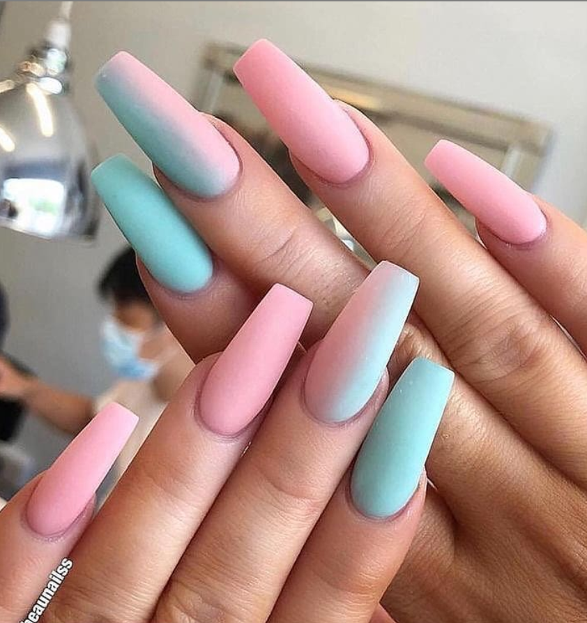 78 Hottest Classy Acrylic Coffin Nails Long Designs For Summer Nail Color Best Acrylic Nails Nail Designs Pretty Acrylic Nails