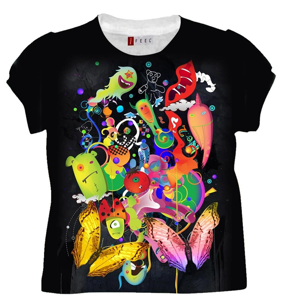 Design t shirt embroidery - Printed T Shirt Re Re