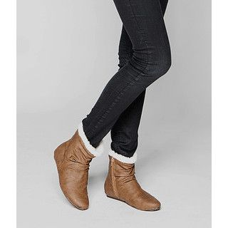 Fleece-Lined Short Boots from YesStyle.com i'm in love with these boots! <3 <3