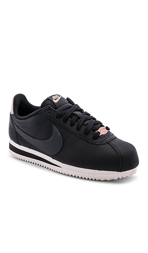 Classic Cortez Leather Metallic 'BlackBronze'   Nike