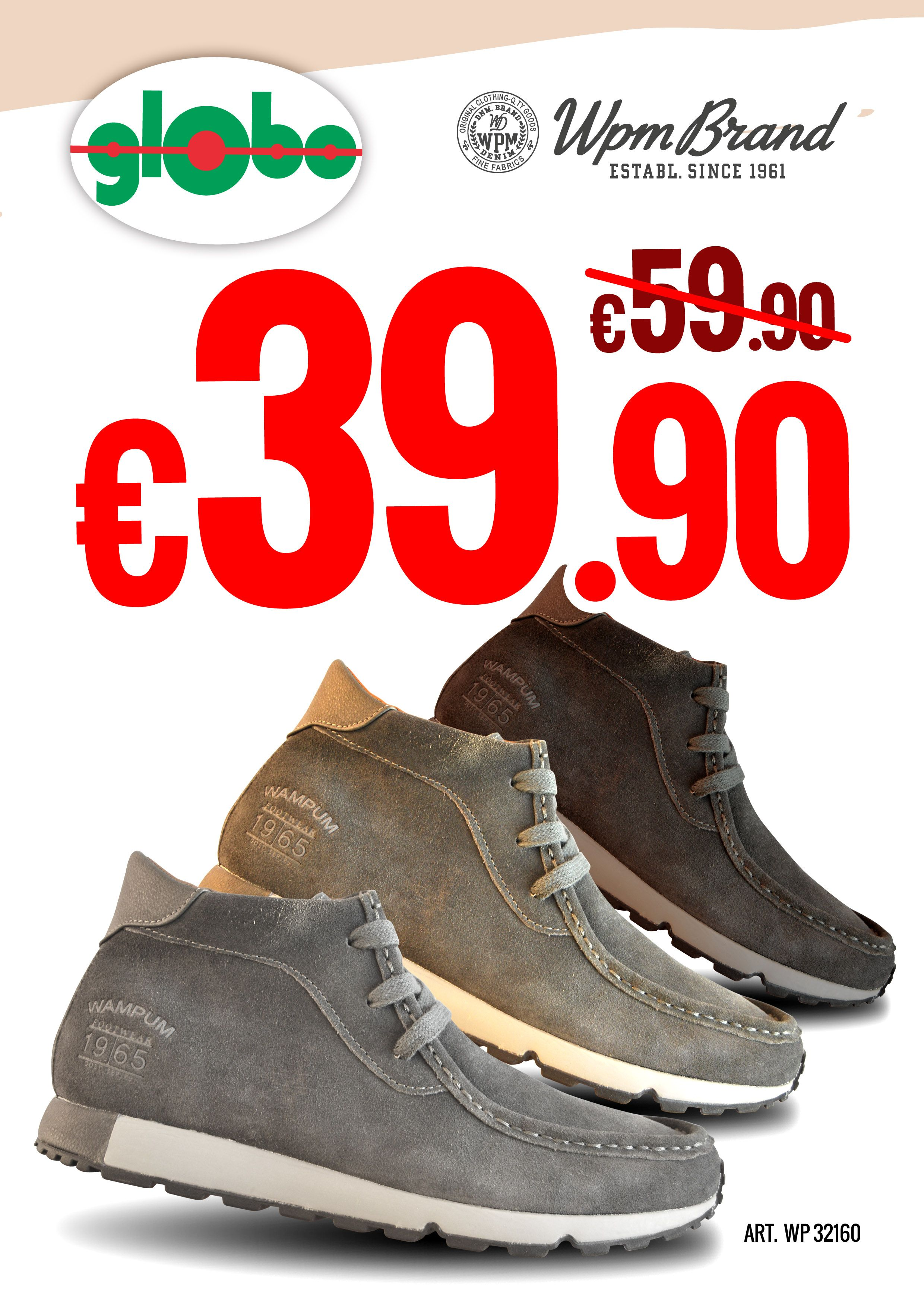 wholesale dealer 044e9 48ff8 Novità Wampum a soli € 39,90   Globo Calzature   Globi